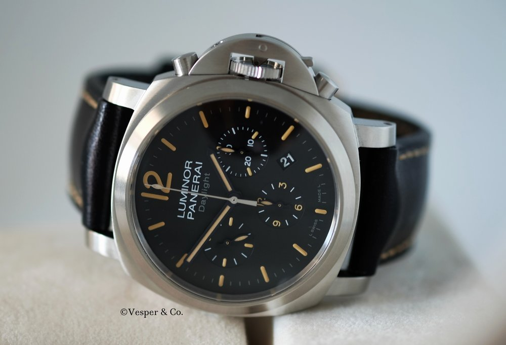 Panerai  Luminor PAM 356 Daylight Chronograph   SOLD