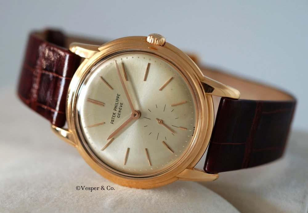 Patek Philippe Ref. 2525 Pink Gold   SOLD