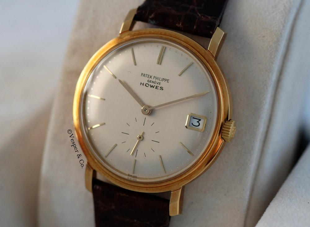 Patek Philippe Ref. 3445 For Howes Pink Gold   SOLD