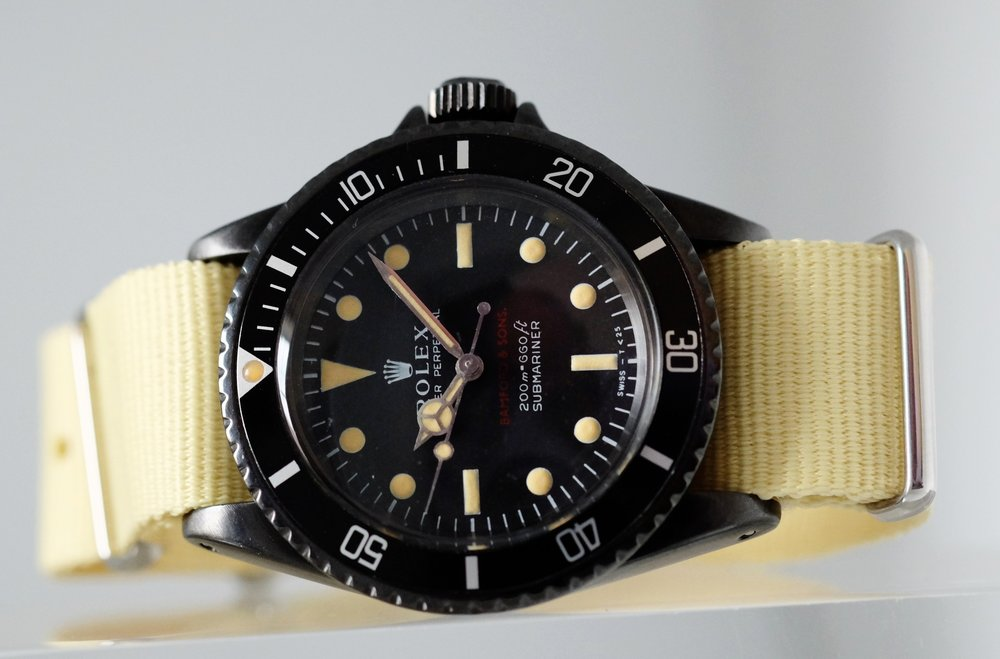 Rolex Submariner X Bamford Ref. 5513 SOLD