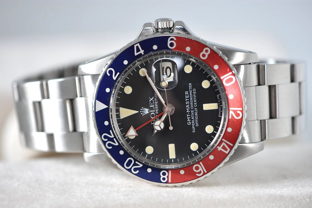 Rolex GMT Stainless Steel Ref. 1675   SOLD