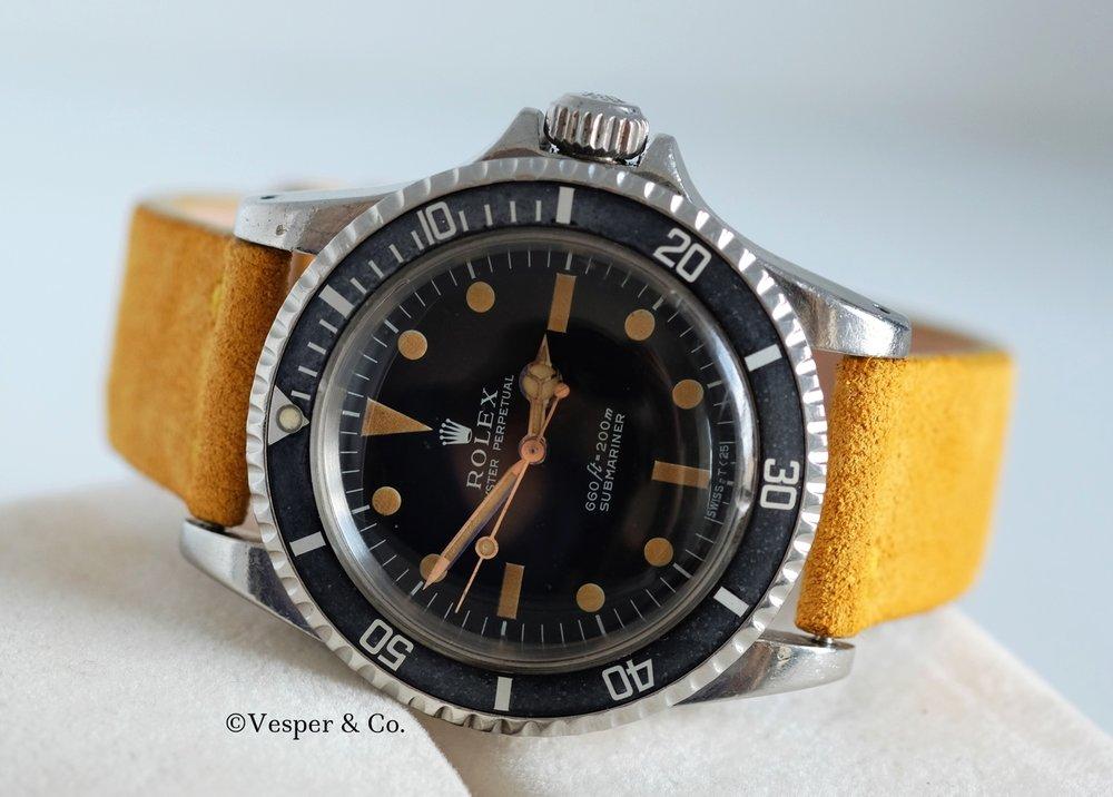 Rolex Submariner Steel Ref. 5513   SOLD