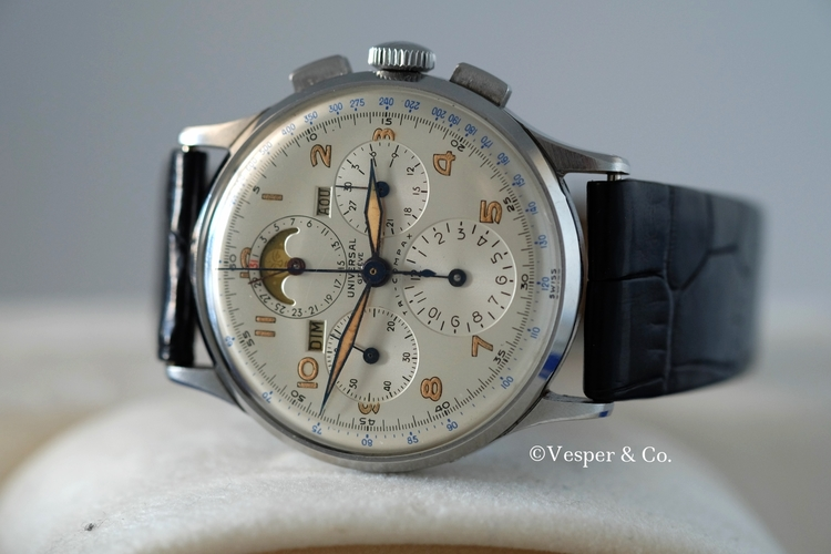 Tri-Compax Triple Calendar  Moonphase   SOLD