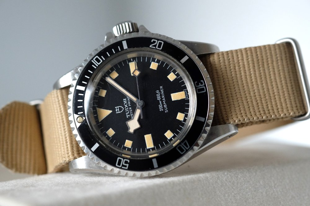"Tudor Marine Nationale ""Snowflake"" Ref. 7016/0  SOLD"