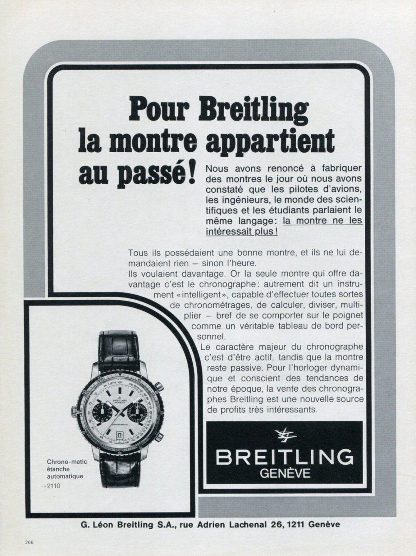 Breitling Chrono-matic ad