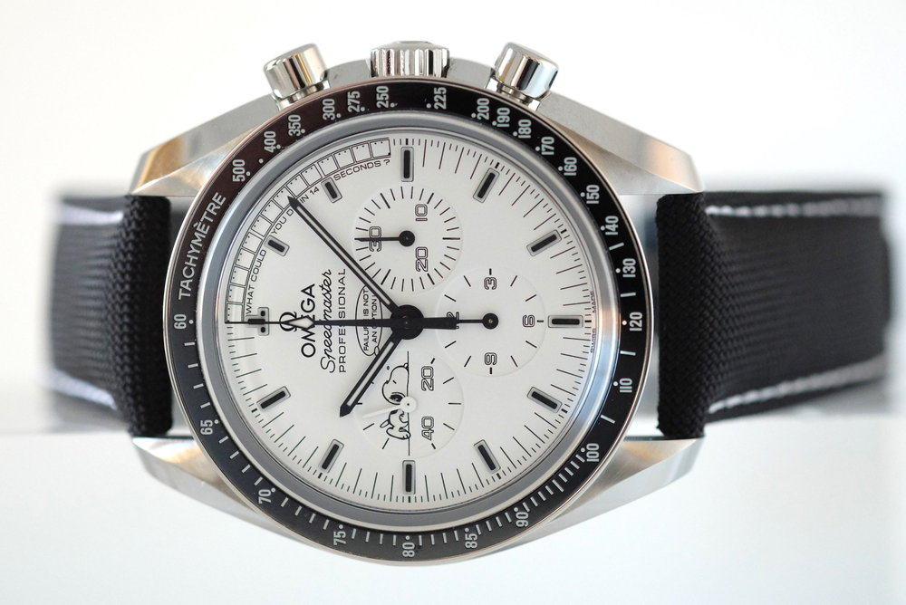 Speedmaster Professional Silver Snoopy Award   SOLD