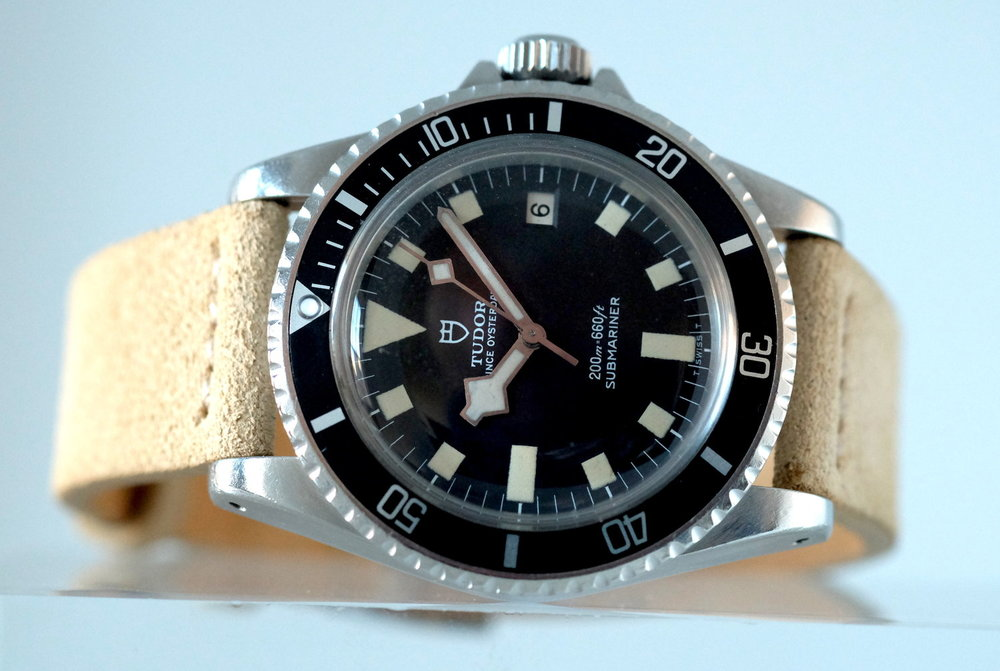 "Tudor Submariner 'Snowflake"" Black dial Ref. 94110 SOLD"