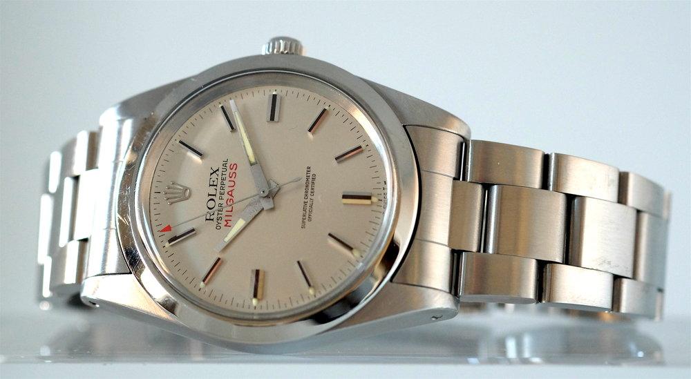 Rolex-milgauss-1019-silver