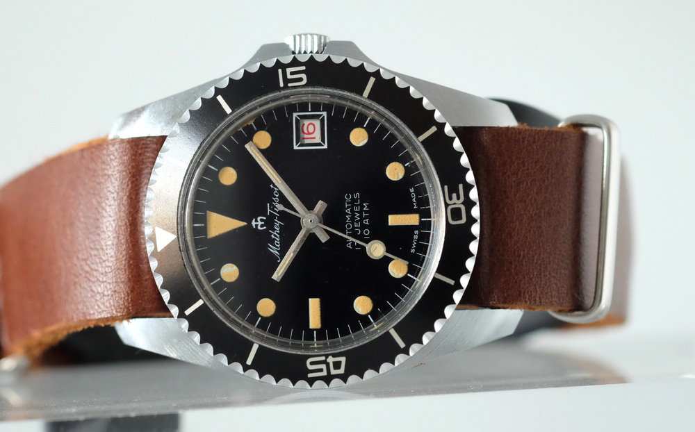 Mathey-Tissot Diver    SOLD