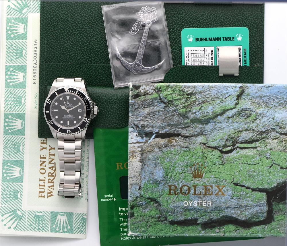 Rolex-sea-dweller-16600-complete