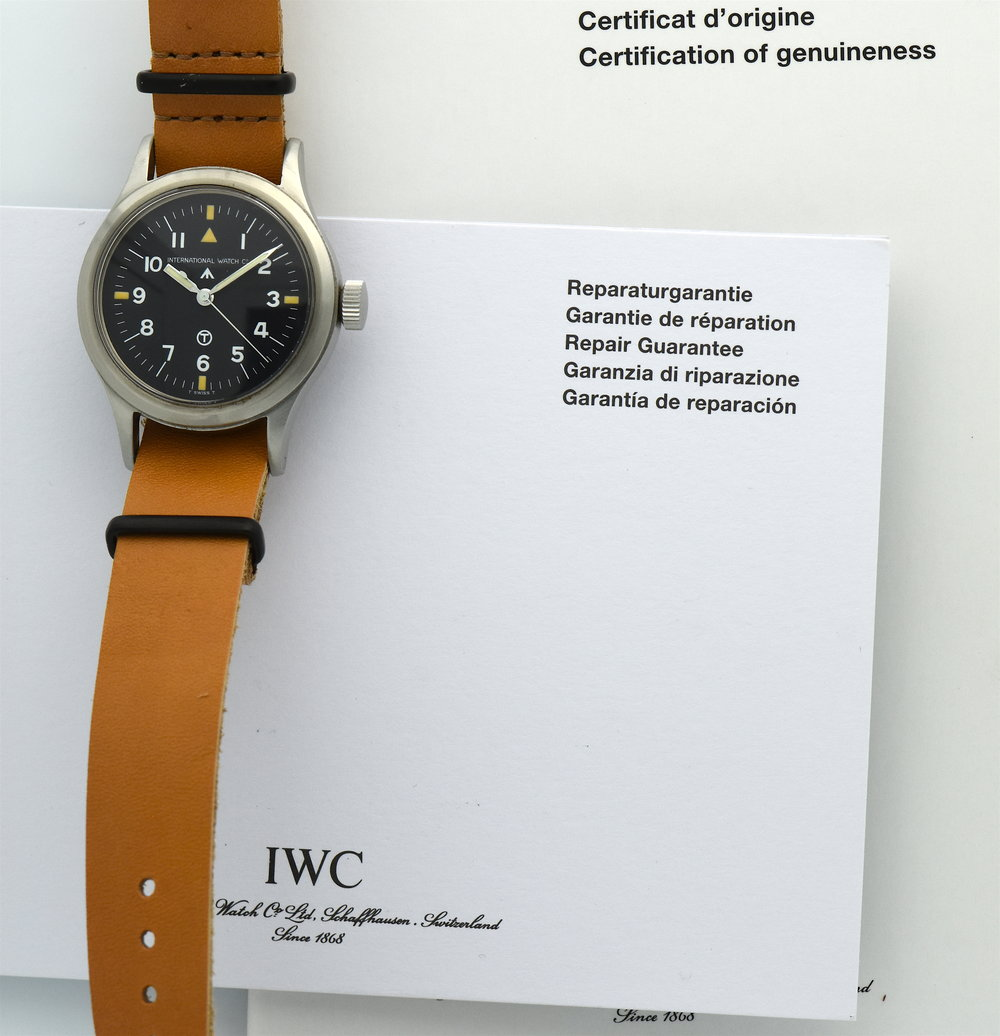 Iwc-Mark-XI-guarantee-certificate