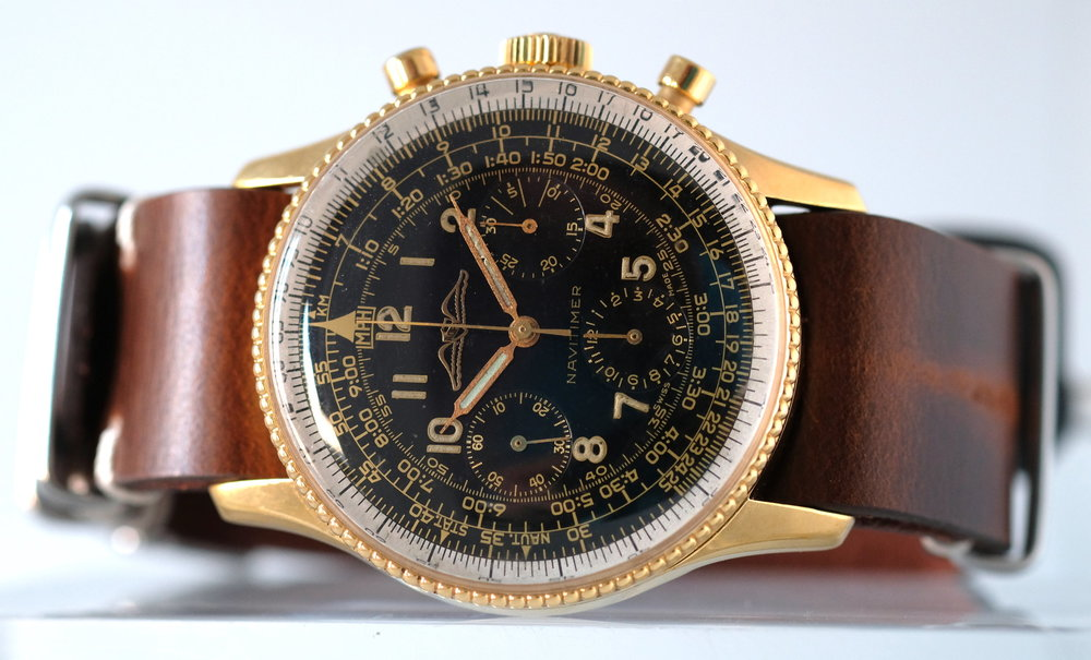 Breitling Navitimer Ref. 806 AOPA gilt dial Price upon request