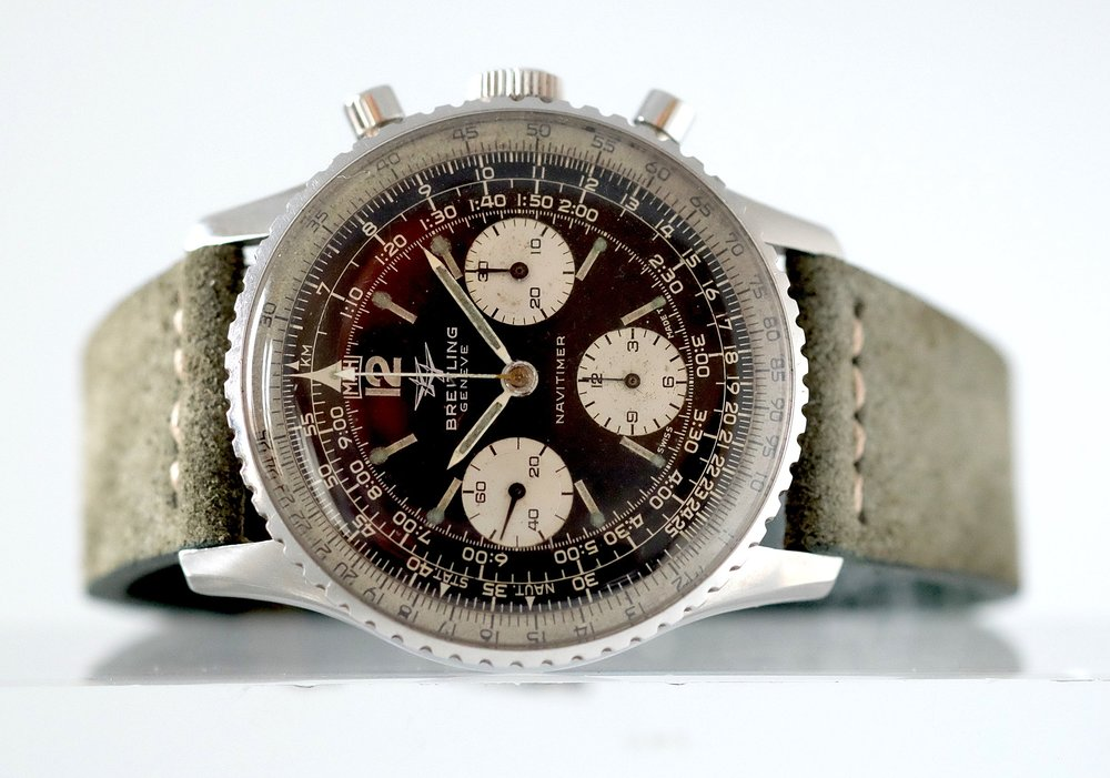 "Breitling Navitimer ""Twin-Jet""  ref. 806   SOLD"