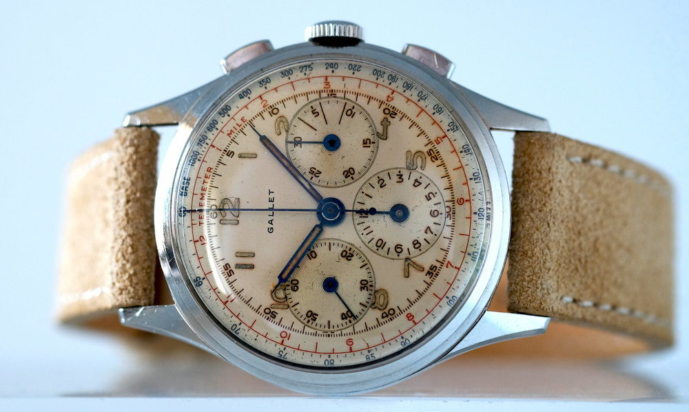 Gallet MultiChron 12H   SOLD