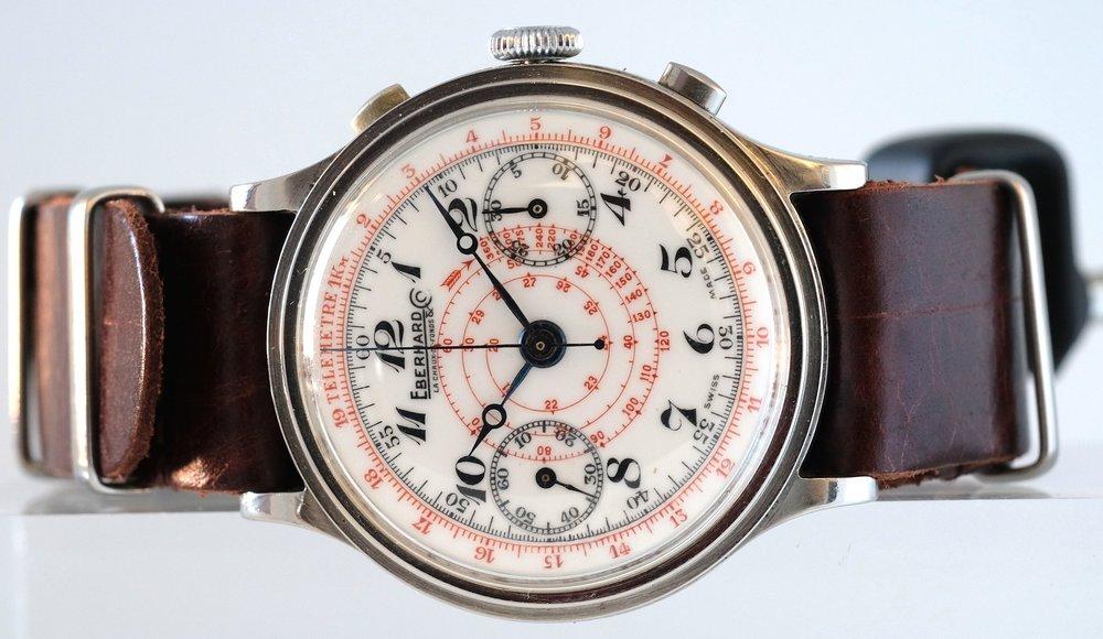 Eberhard-porcelaine-dial