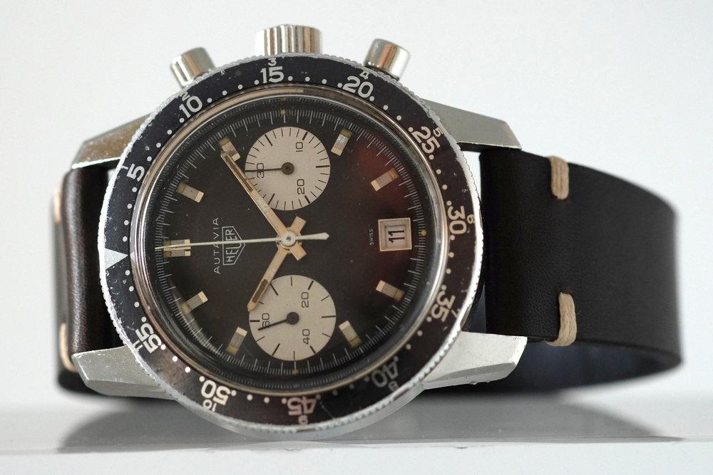 Heuer Autavia Dato Ref. 7863C Price: $9,950
