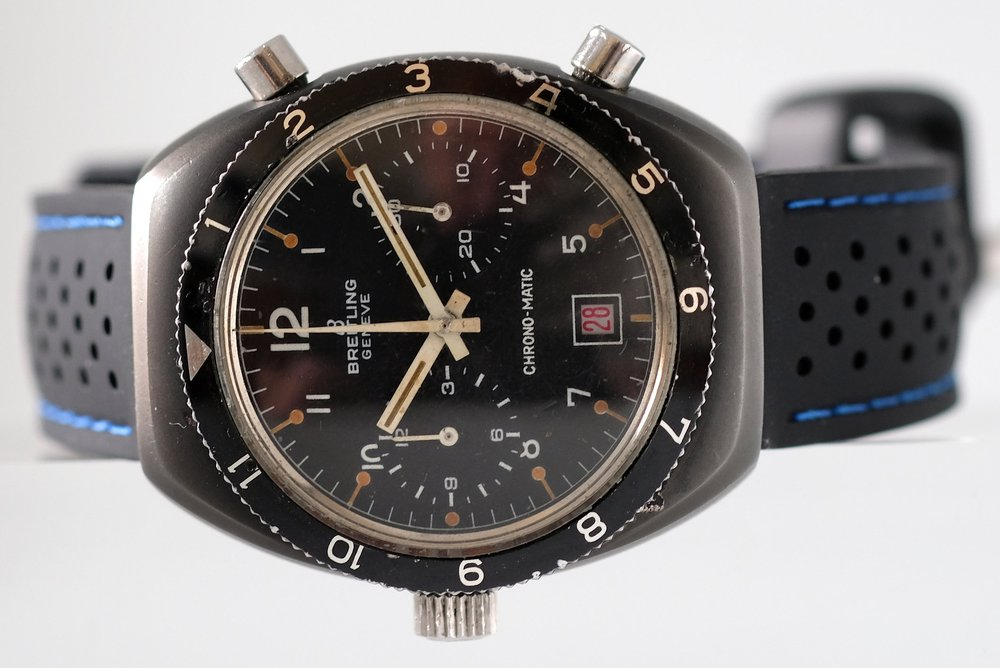 "Breitling ""PVD""  ref. 2114   SOLD"