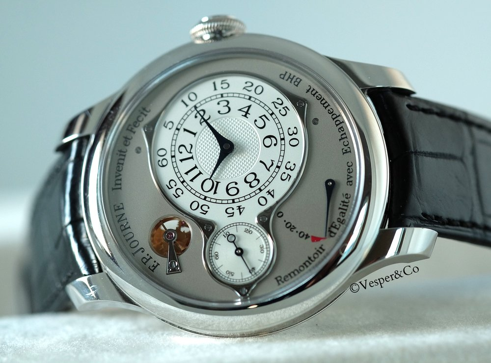FP Journe Optimum Chronomètre Platinum   SOLD