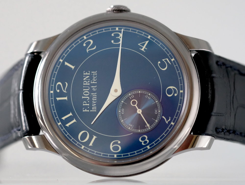 FP Journe Chronometre Bleu   SOLD