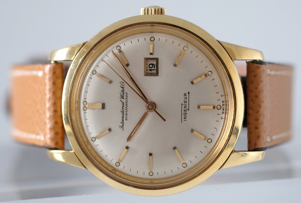 IWC Gold Ingenieur Ref. 666AD Price: $5,995