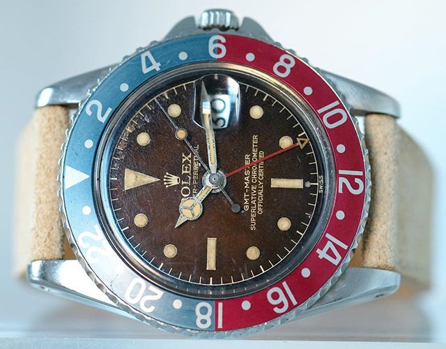Rolex GMT exclamation tropical  dial PCG