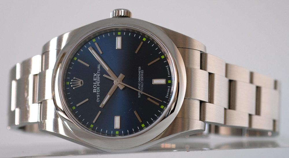 Rolex Perpetual 39 Blue Ref. 114300   SOLD