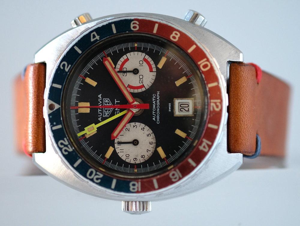 Heuer Autavia GMT Ref. 11630  SOLD