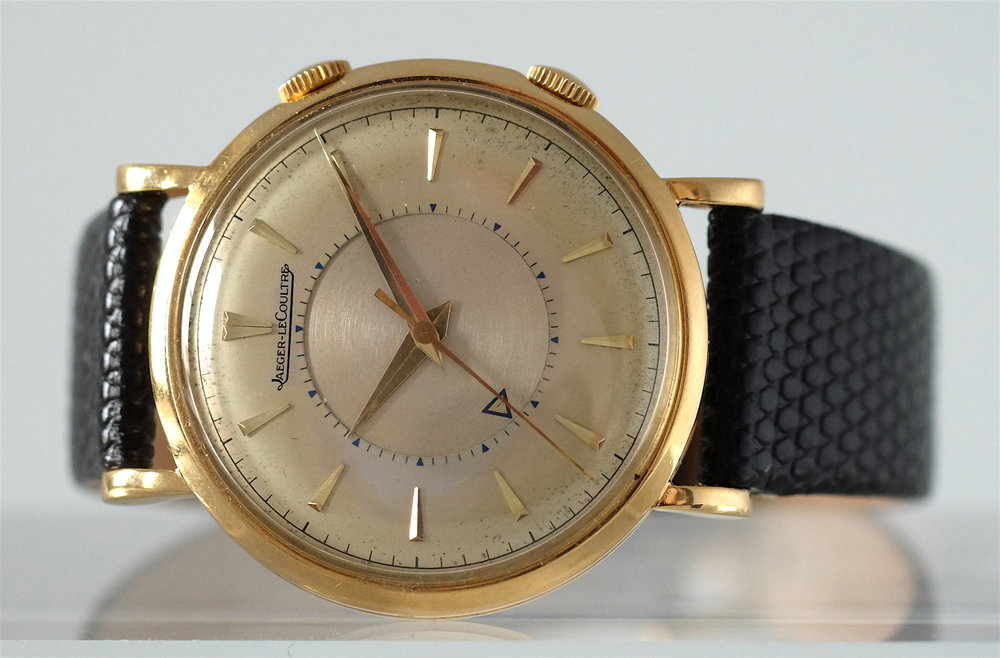 Jaeger LeCoultre Memovox Gold  SOLD