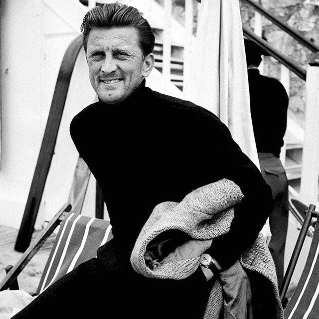 Kirk Douglas, Cannes 1955 #kirkdouglas #patekphilippe
