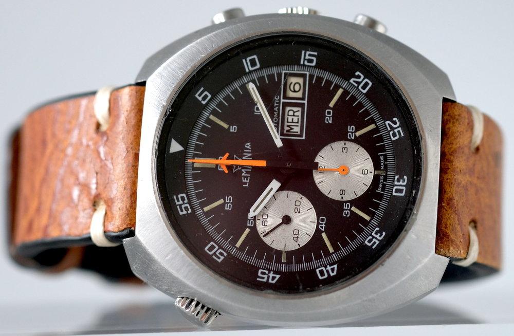 Lemania Chronograph w/ Caliber 5100  Price: $2,995