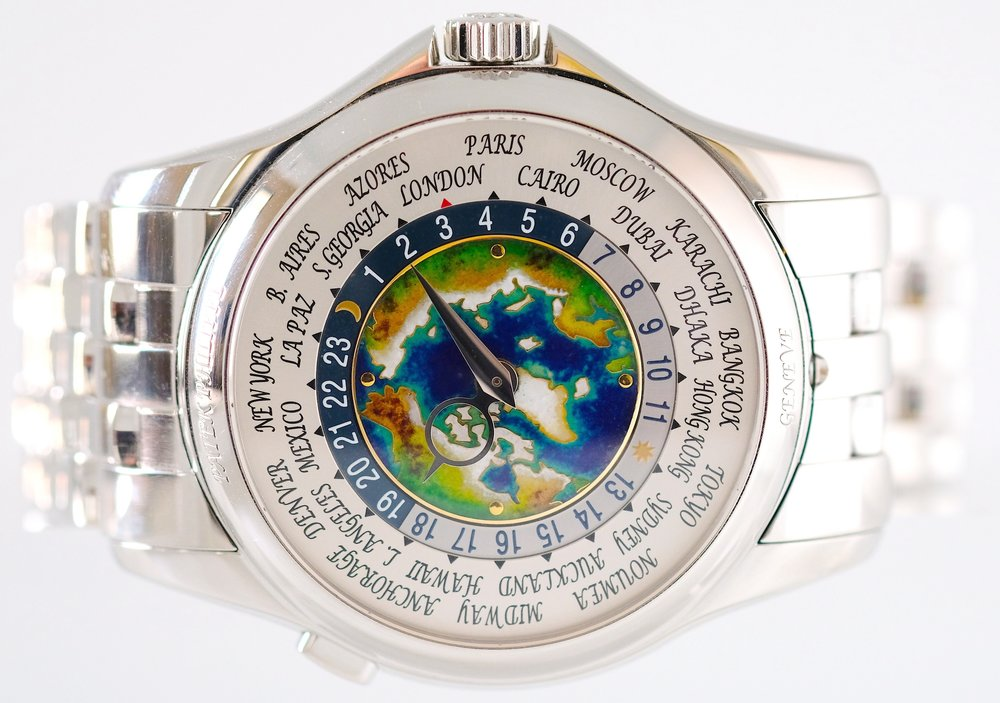 Patek Philippe Worldtimer 5131P   SOLD