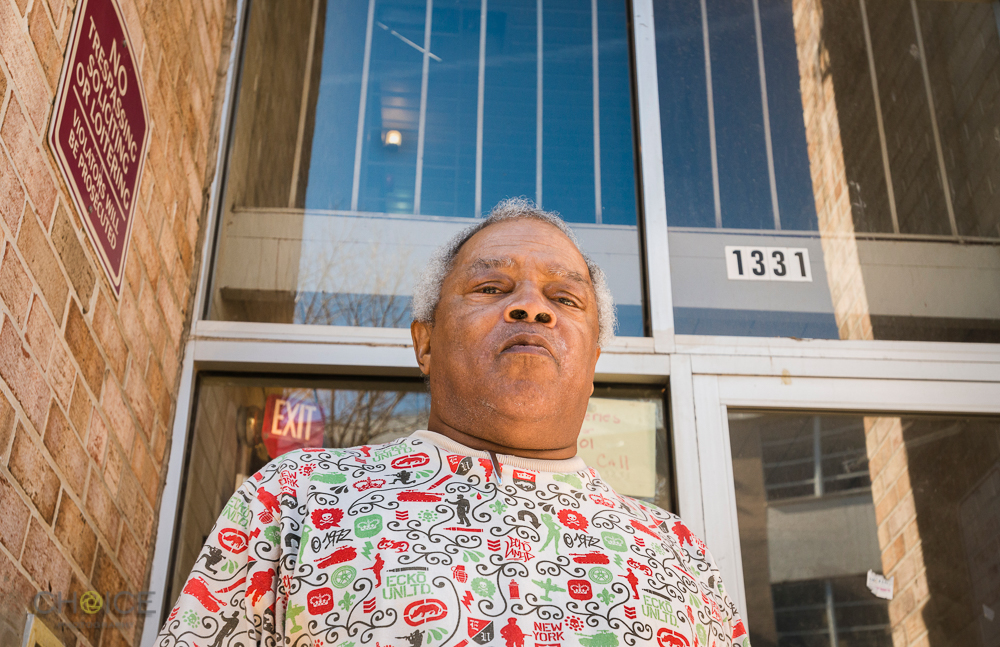 Mr. Robert Green, fair and affordable housing advocate, at his apartment near Alabama Avenue, SE, Washington, D.C. November 10, 2016 (Rodney Choice/Choice Photography/www.choicephotography.com)