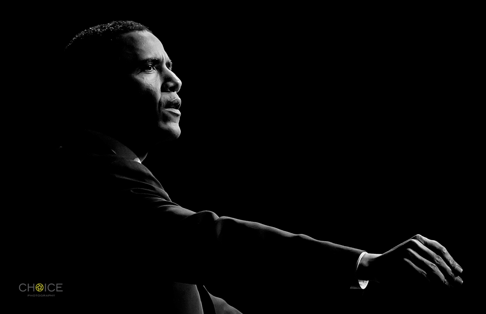 Barack Obama by (Rodney Choice/Choice Photography/www.choicephotography.com)