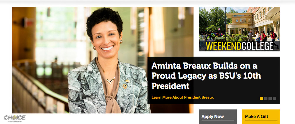 Dr. Aminta Breaux, 10th President of Bowie State University (Rodney Choice/Choice Photography/www.choicephotography.com)