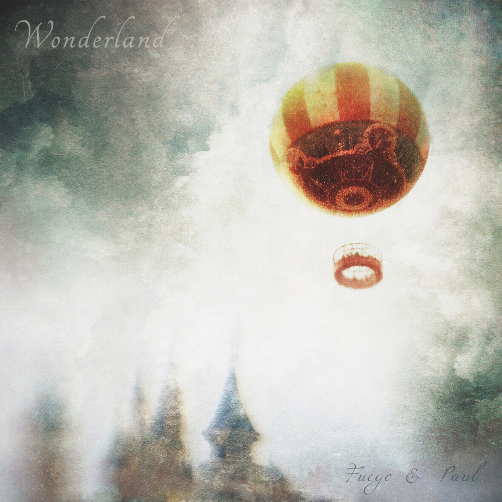 "The album cover to ""Wonderland""."