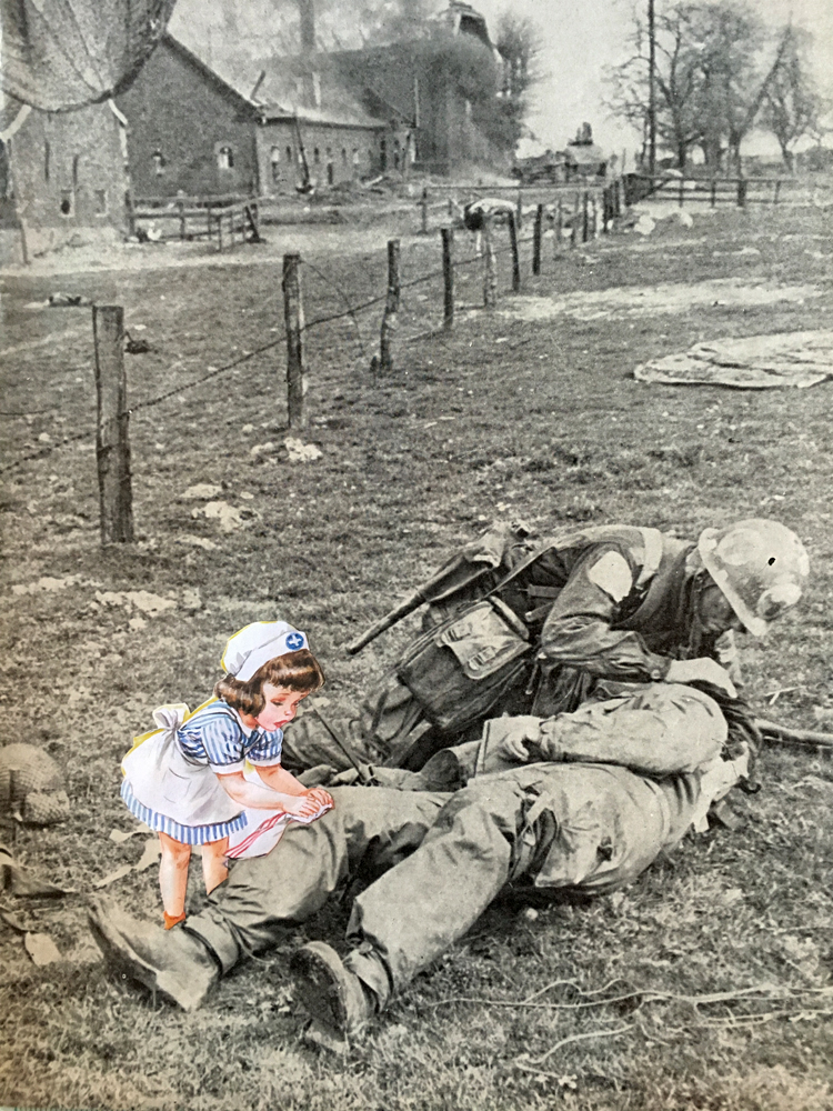 """Nurse Nancy and the Paratroopers"", 2016."