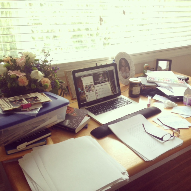"Yes, my desk is messy but I know where everything is and don't you DARE ""clean"" it up! #ENFP"