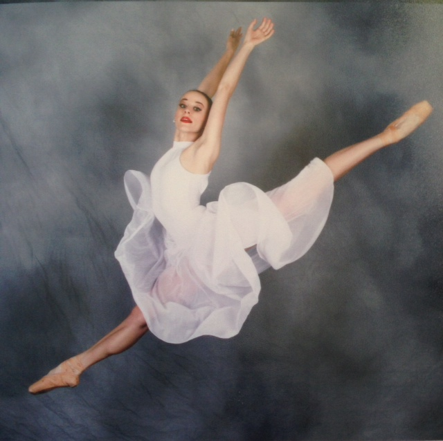 My Ballerina, Jewel. Follow her on Instagram: @dancing_machine