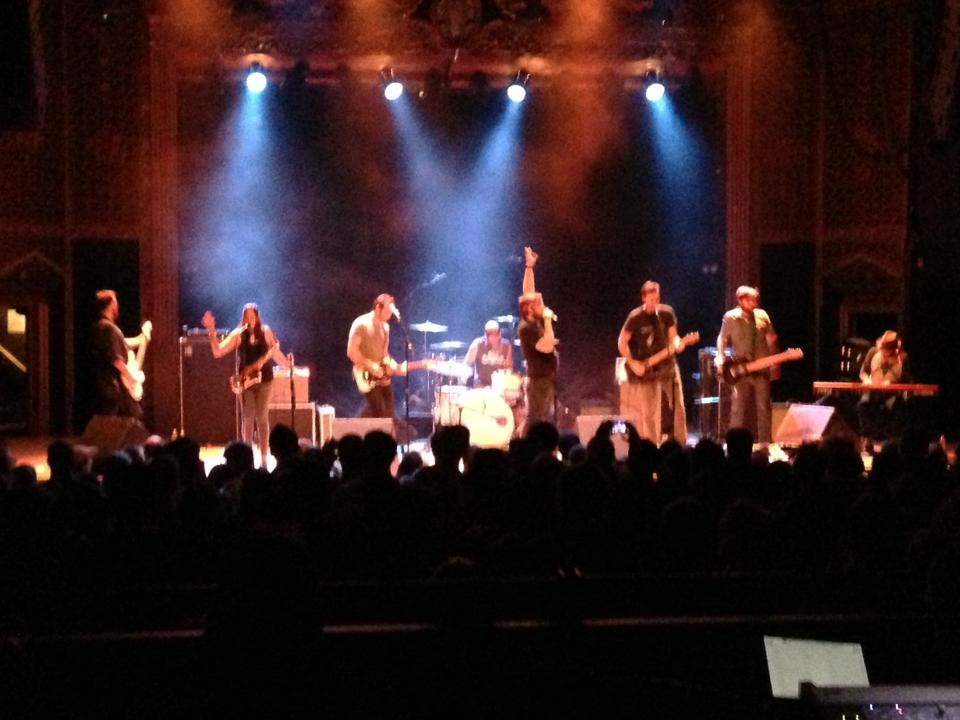Opening for Five Iron Frenzy at the Ogden Theater