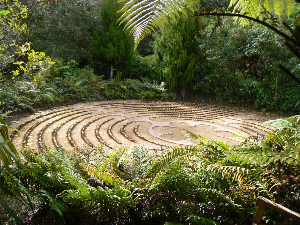 the labyrinth at te moata retreat centre