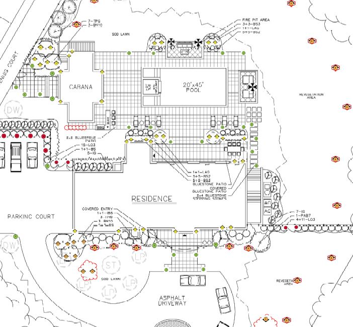 drawing 4.JPG  sc 1 th 216 & Hamptons Landscape LightingHamptons Landscape Lighting - LED Outdoor ...