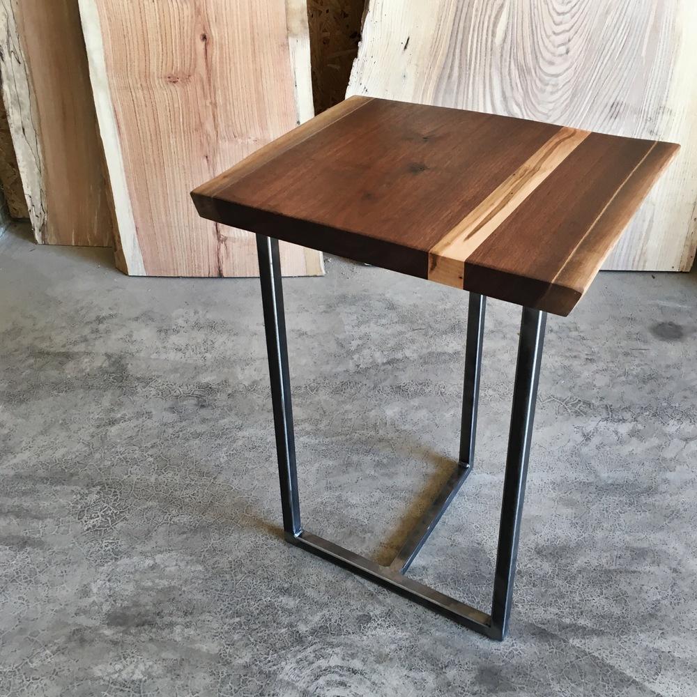 Marvelous Black Walnut/Ambrosia Maple End Table