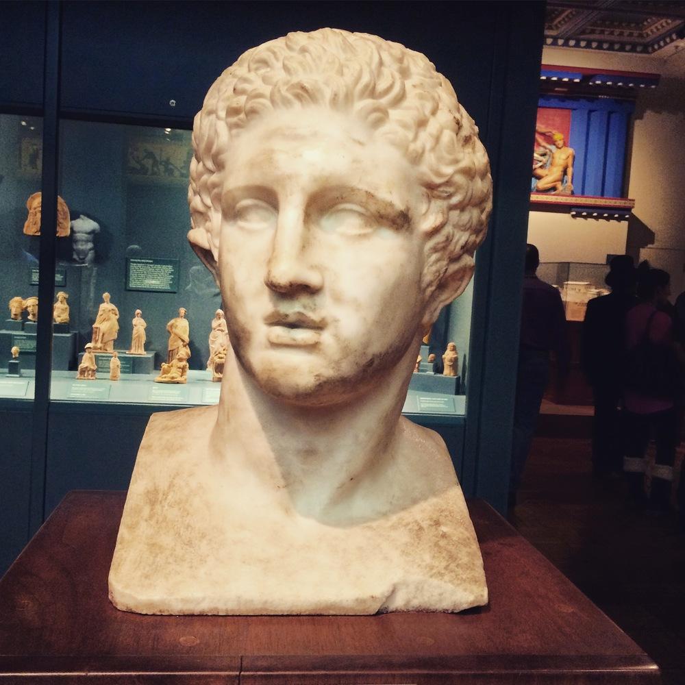 Hercule's bust - GREEKS