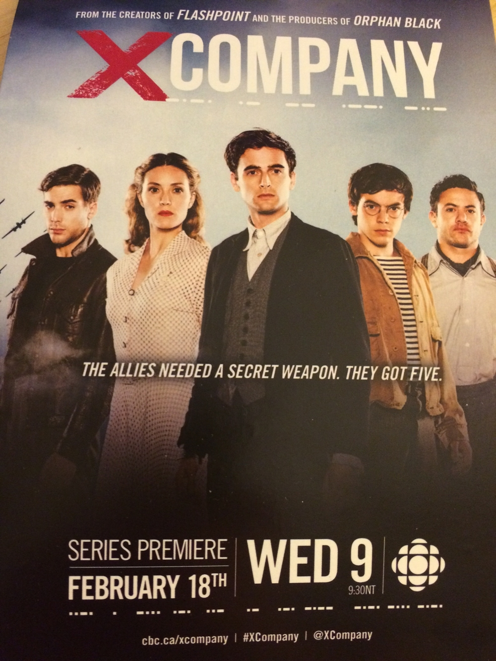 X Company official poster