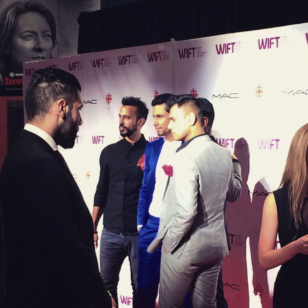 Beeba Boys Cast at WIFT TIFF Gala