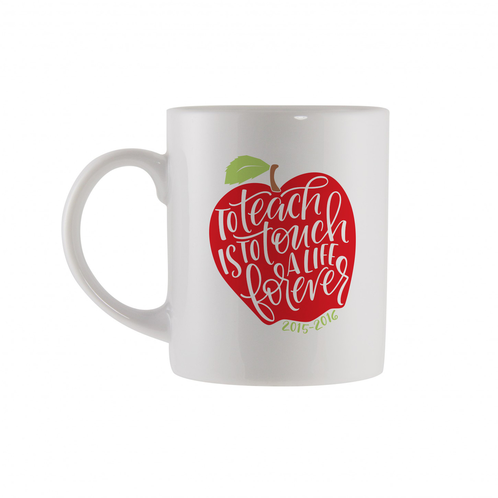 Apple Quote Mug - $20
