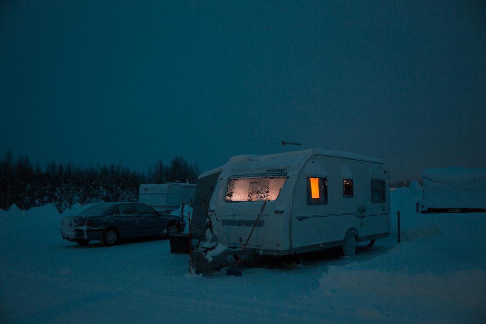 Winter Caravan, Ylläs, Finland