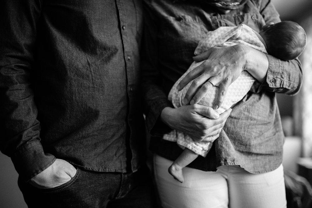 parents with newborn palo alto