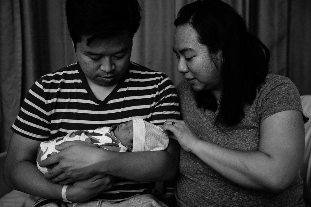 family of three palo alto