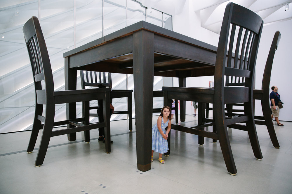 giant table and chairs